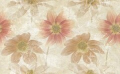 Декор-керамический-25х40-Crema-Flower-Bunch-300x187