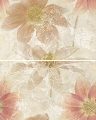 Панно-керамическое-из-2-плиток-50х40-Crema-Flower-Bunch1-300x188