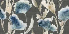 Aura Grafite Floris 31.5x63 декор